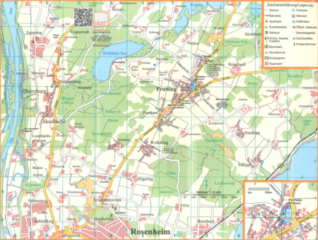 Ortsplan / Ortsteile