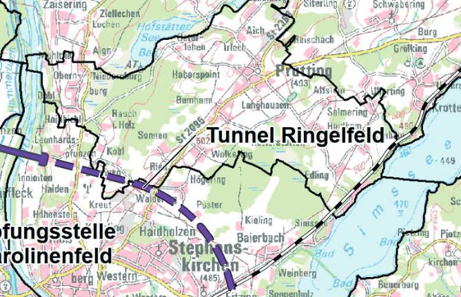 Raumordnungsverfahren für die Planung des Brenner Nordzulaufs