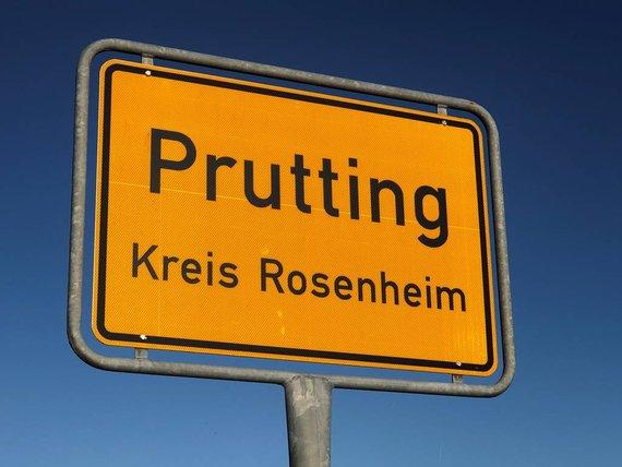Prutting Ortsschild