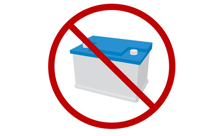 Einstellung der Sammlung alter Fahrzeugbatterien zum 31.12.2020