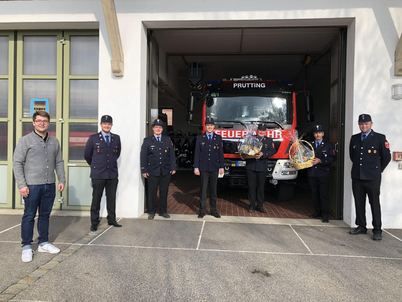 Neuwahl der Feuerwehrkommandanten der Freiwilligen Feuerwehr Prutting