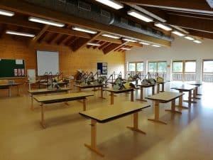 Wegen Corona: Zwei neue Klassenzimmer für die Grundschule – der Gymnastikraum und der Sitzungssaal vorübergehend umgenutzt